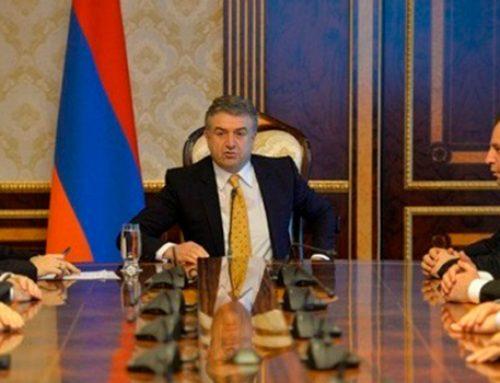 Армянские министры уходят в отставку
