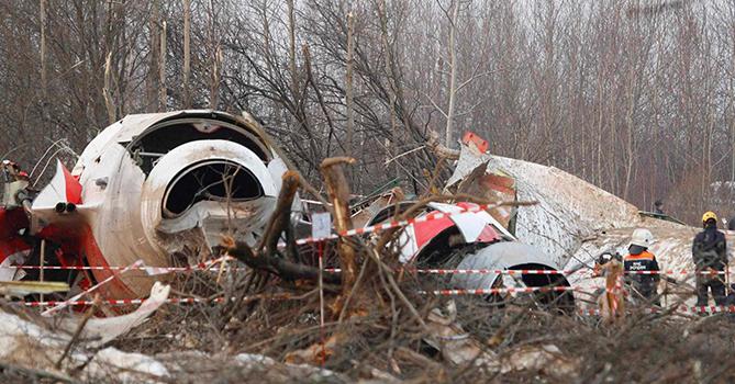 ВПольше перенесли завершение расследования смоленской авиакатастрофы доконца года