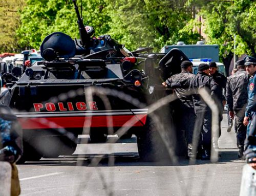 В Ереване полиция приступила к задержаниям