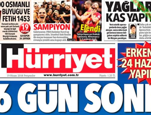 Hürriyet теряет свою репутацию