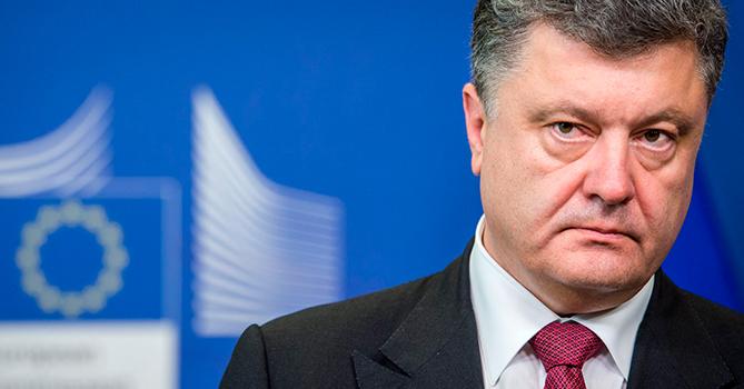 Порошенко поддержал решение США овводе новых антироссийских санкций