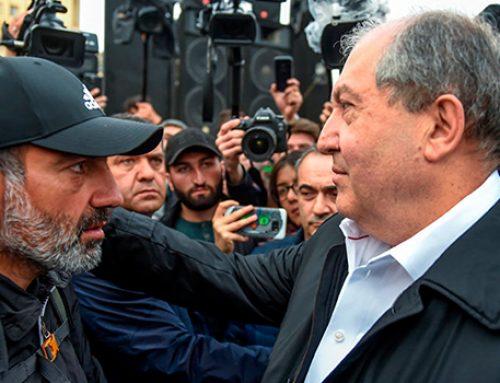 Президент Армении пришел на митинг оппозиции