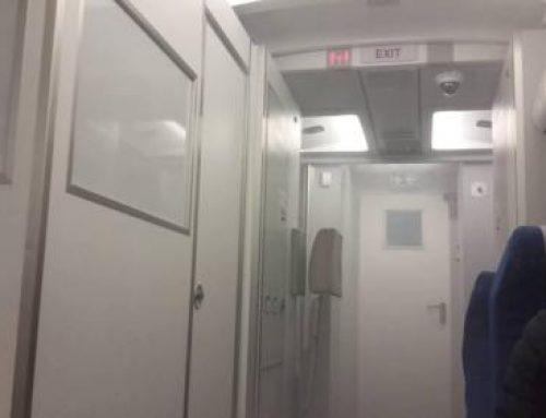 В Японии задымился самолёт с 137 пассажирами