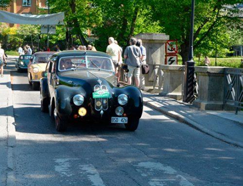В Стокгольме состоялся заезд винтажных автомобилей