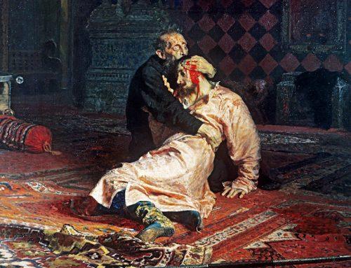 Так «накрыло», что на Ивана Грозного напал