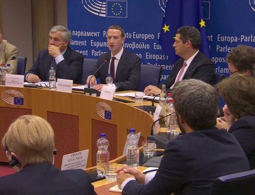 Цукерберг выступил в Европарламенте