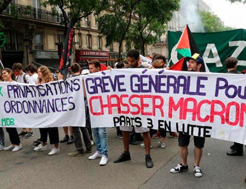 Французы против реформ Макрона