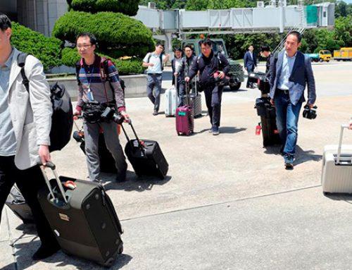 Журналисты отправились в долгую дорогу по КНДР