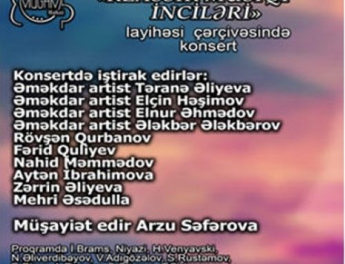 В Баку состоится концерт «Жемчужины классической музыки»