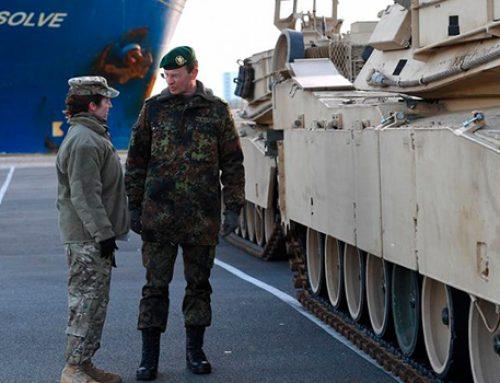 США через ФРГ перебрасывают тысячи танков в страны Балтии и Польшу