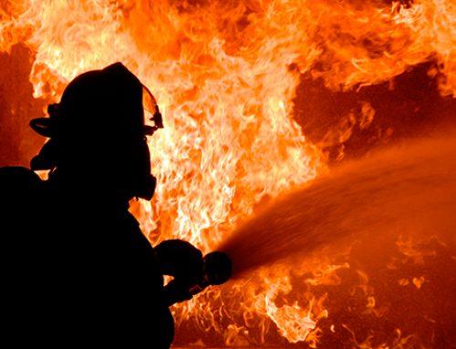 В Москве пожар унес жизнь человека