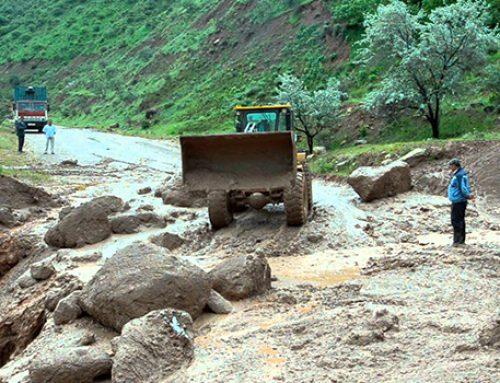 В Таджикистане в результате схода селя погиб человек