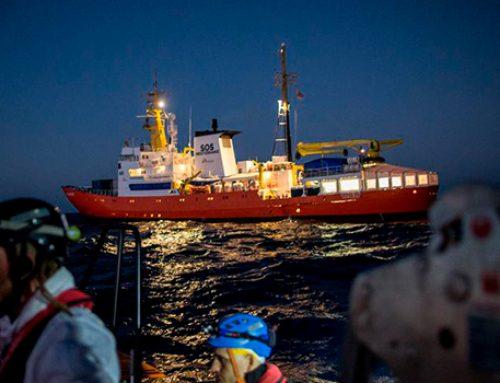 В порту Мальты пришвартовалось судно Aquarius с мигрантами