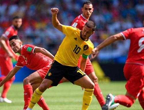 Бельгия разгромила Тунис и вышла в 1/8 финала ЧМ