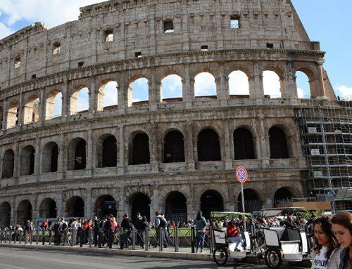 Подросток из Австрии попытался украсть фрагмент Колизея