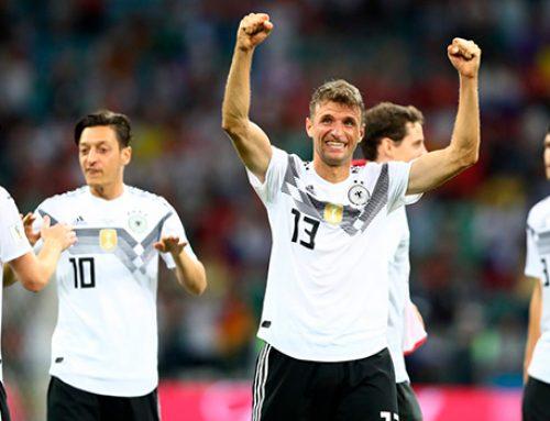 Германия добывает первую победу на ЧМ-2018