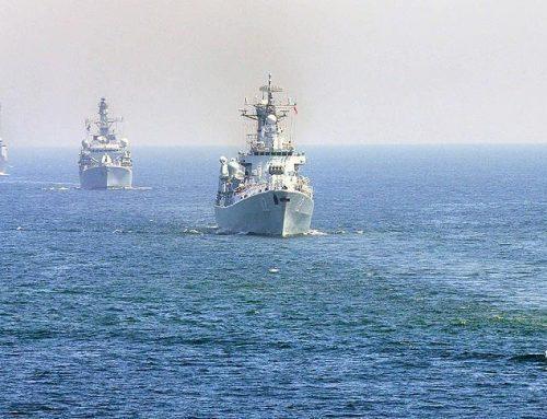 Сеул проводит учения у спорных островов в Японском море