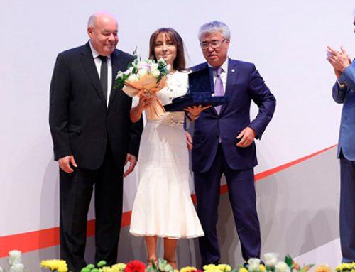 Наргиз Пашаева награждена премией «Звёзды Содружества»