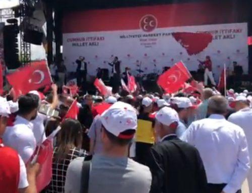 В Анкаре проходит митинг MHP