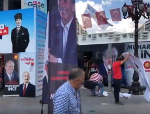 В Турции проходит последний этап предвыборной агитации