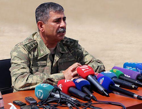 Закир Гасанов: «В прошлом году наша армия провела более 20 тактических учений»