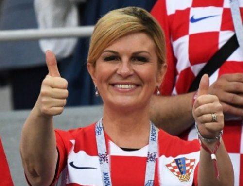 Президент Хорватии заговорила по-русски перед финалом чемпионата мира