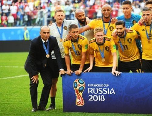 Сборная Бельгии забила 16 голов и заставила продавца телевизоров сдержать слово