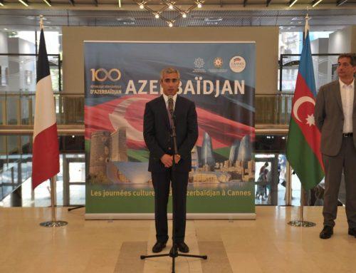 При организации Фонда Гейдара Алиева в Каннах начались Дни азербайджанской культуры (ФОТО)