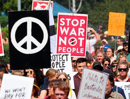 В Хельсинки на фоне российско-американского саммита проходят демонстрации