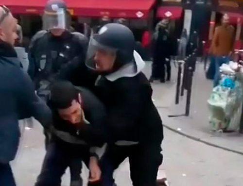 Советника Макрона задержали за избиение демонстранта