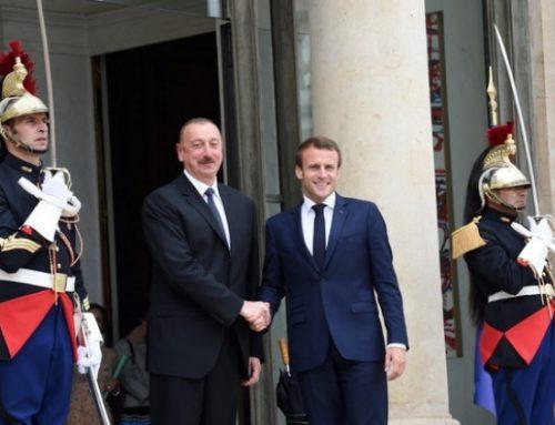 Состоялась встреча президентов Азербайджана и Франции
