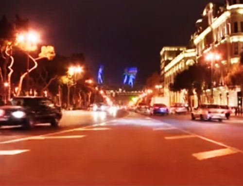 Золотая молодежь» перекрыла тоннель в Баку… и выпила шампанское