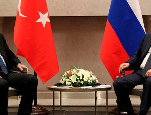 Стали известны место и время встречи Путина и Эрдогана