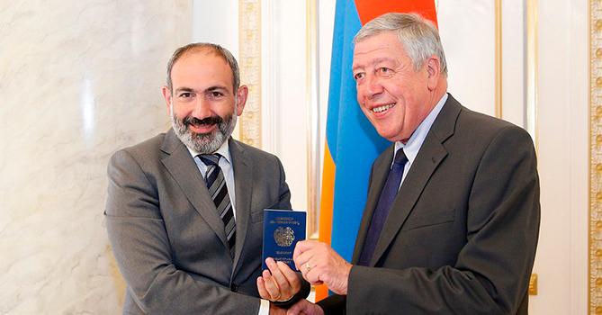 Пашинян: «Яшокирован объемами коррупции вАрмении»