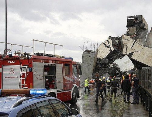 Выросло количество жертв трагедии в Генуе