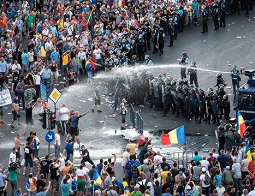 В МВД Румынии принесли извинения пострадавшим во время митинга в Бухаресте