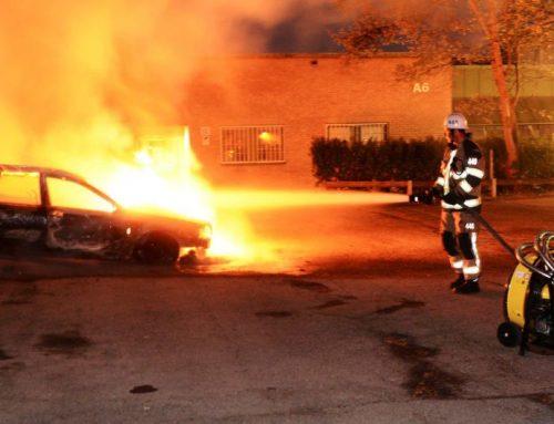 В шведском Гётеборге за ночь сожгли 88 машин