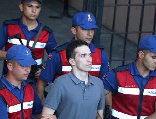 В Турции освободили двоих греческих военных