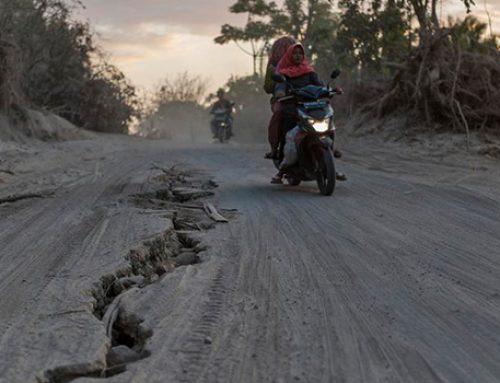 В Индонезии вновь произошло сильное землятресение