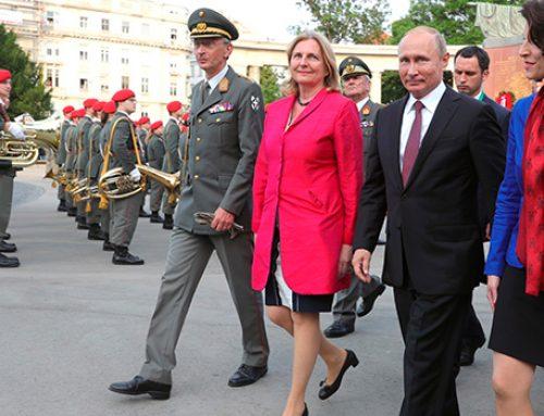 Путин приглашен на свадьбу главы МИД Австрии