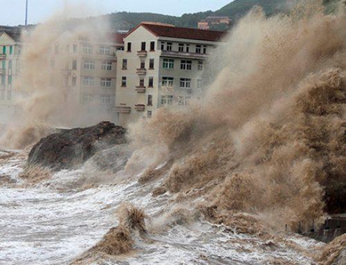 В Китае число жертв тайфуна «Румбия» возросло до семи человек