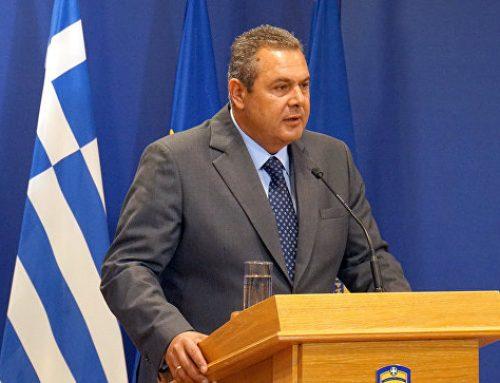Министр обороны Греции считает возможным мирное сосуществование с Турцией