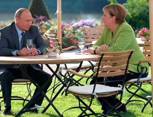 Песков рассказал, как прошли переговоры Путина и Меркель