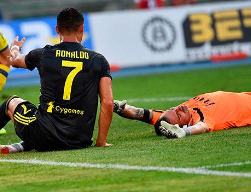 Роналду сломал нос вратарю «Кьево»
