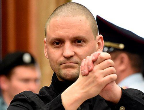 Проводящий сухую голодовку Сергей Удальцов госпитализирован