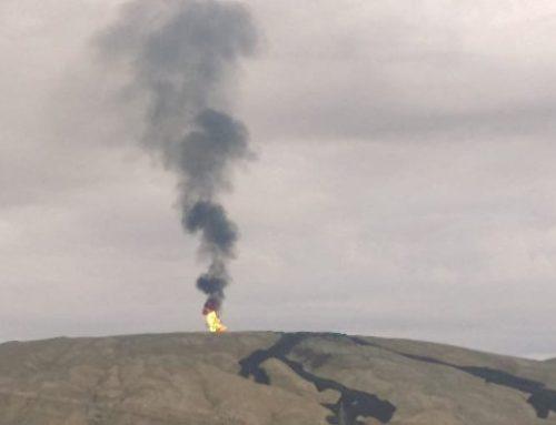 Горячее воскресенье: близ Баку происходит извержение вулкана