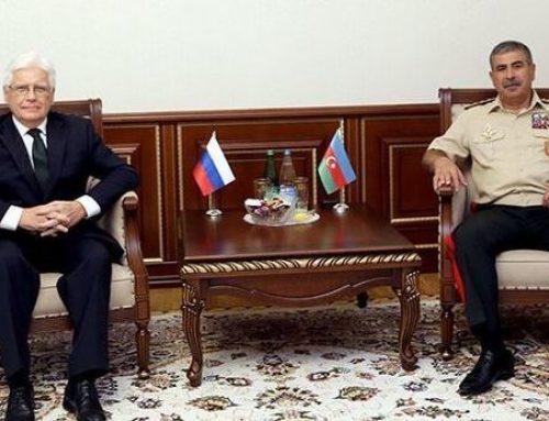 Азербайджан и Россия обсудили военное сотрудничество
