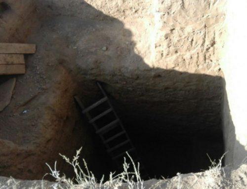 В Ярдымлы проводились незаконные раскопки на территории археологического памятника