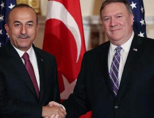 Чавушоглу и Помпео обсудили сирийский Идлиб
