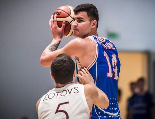 Азербайджанский баскетболист в чемпионате Франции